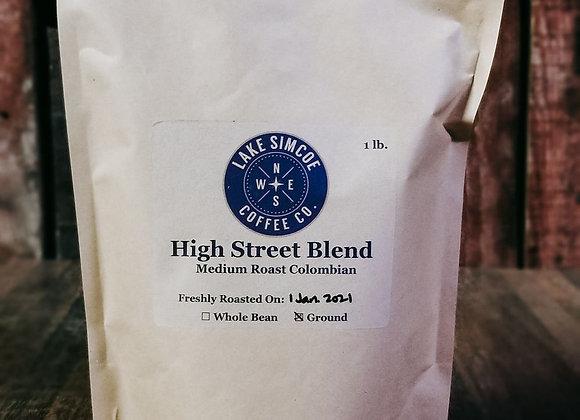 Lake Simcoe- GROUND COFFEE-Medium blend-1LB