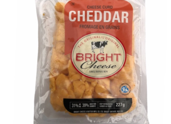 Cheese Curds- Cheddar