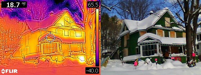 Roof Melt Thermal