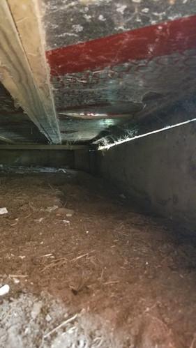 Under porch