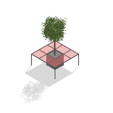mesa-árbol