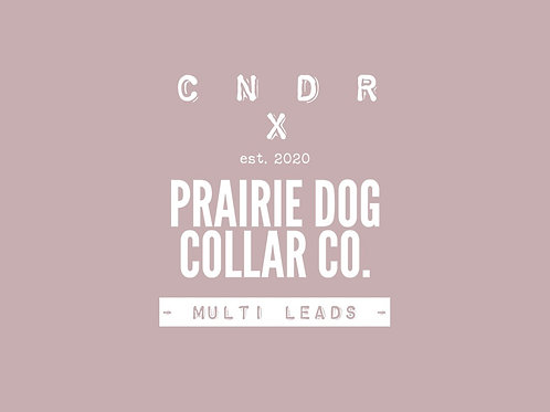 CNDR X PRAIRIE DOG COLLAR CO - Multi Leads