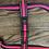 Thumbnail: Pink and Black harness - SMALL