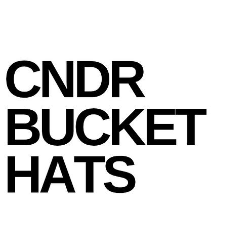 CNDR Bucket hats