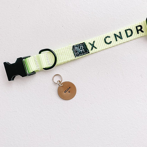 CNDR X R&R COMPRESSIONS - Hand Stamped Dog Tag