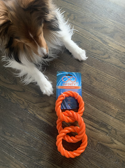 Infinity Knot Tug Toy