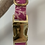 Thumbnail: Lewis and Clark pink and brass snowflake collar - SMALL