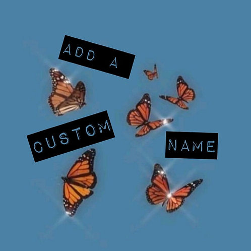 Add A Custom Name (bandanas)