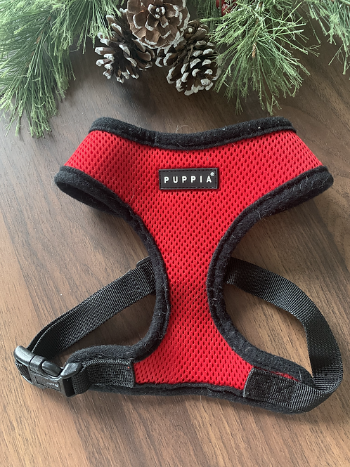 Puppia Red Soft Harness - S/M