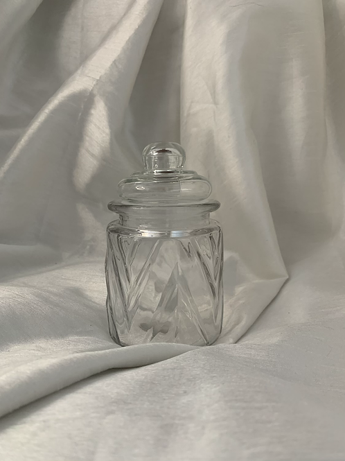 Small treat jar with lid