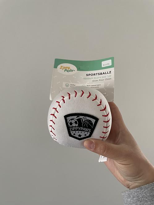 Zippy Paws Baseball Plush