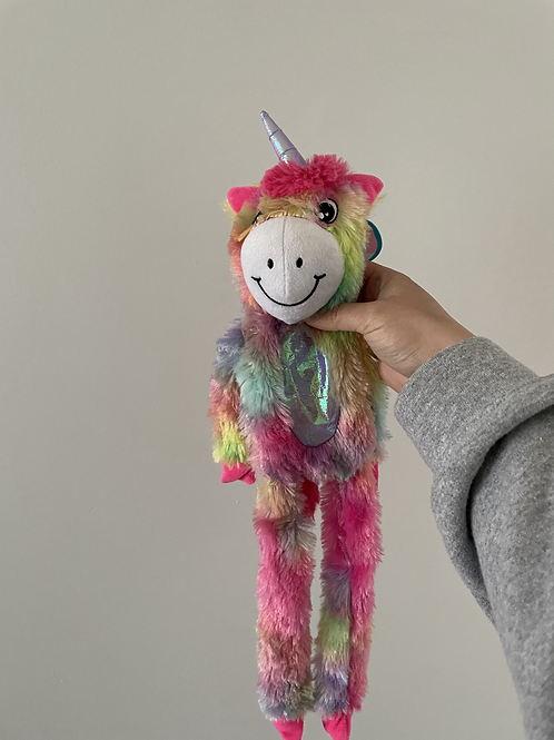 Large Unicorn Rainbow Toy