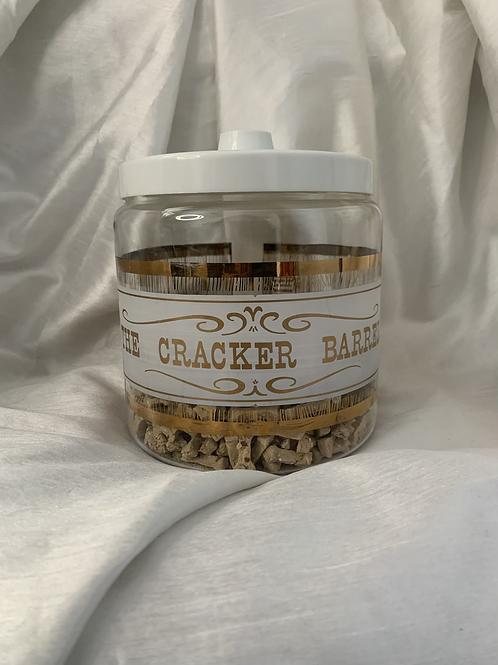 Vintage Cracker Barrel Treat Jar