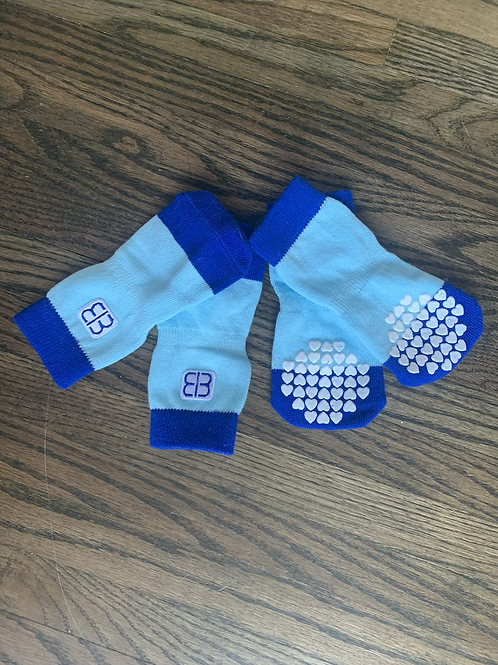 Baby Blue Socks with Grip