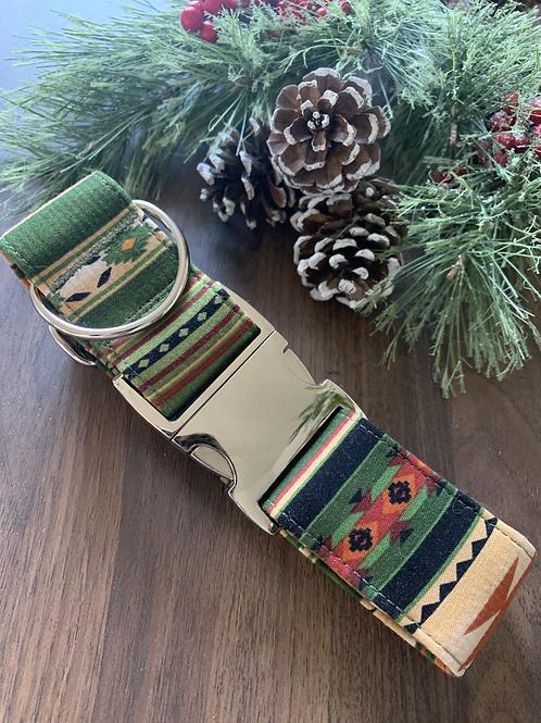 Christmas Tribal Collar - XL
