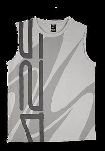 Light grey sleeveless men