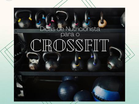 Dicas de Nutricionista para o CrossFit