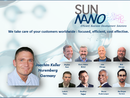 Sun Nano is proud to have Joachim Keller being the nineth Business Developer on our team!