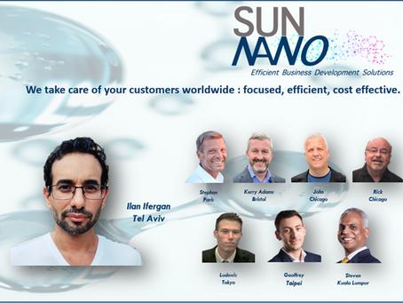 Sun Nano is proud to welcome in its team Mr Ilan Ifergan, deep-tech start-ups specialist.