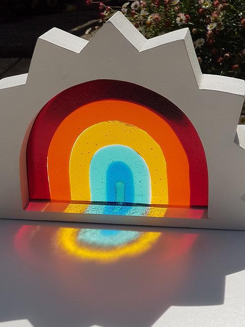 Rainbow Window - Small Sun