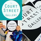 The Court Stree Gallery logo planning