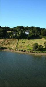 Aerial view of Estuary House