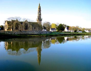 The church at Le Faou