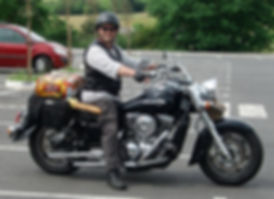 Image of motorcycling in France