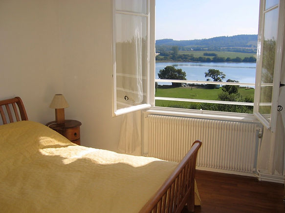 Image of stunning view of estuary through bedroom window