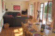 Sitting & dining room Estuary House
