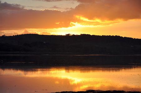 Sunset on the estuary