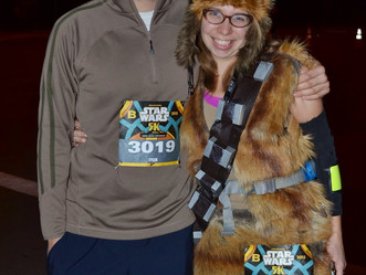 Star Wars Expo and 5K: Sharp Turn Ahead!
