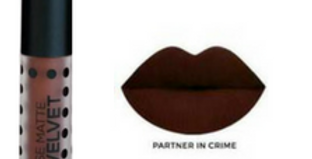 SACHA COSMETICS PARTNER IN CRIME