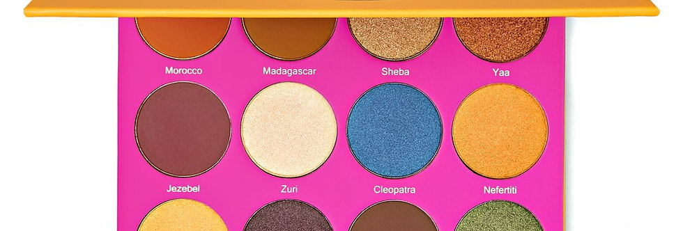 JUVIAS PLACE The Nubian 2 Eyeshadow Palette