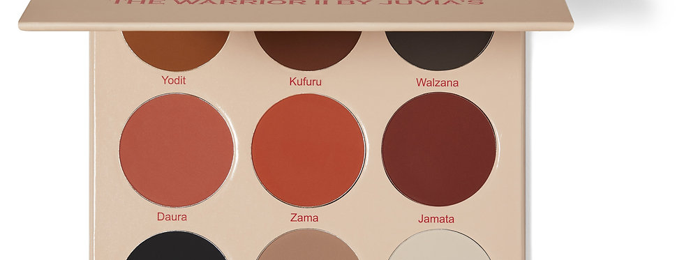 JUVIAS PLACE The Warrior II Eyeshadow Palette