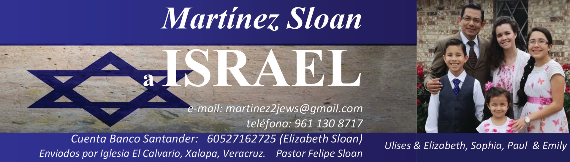 Misioneros Martinez Sloan