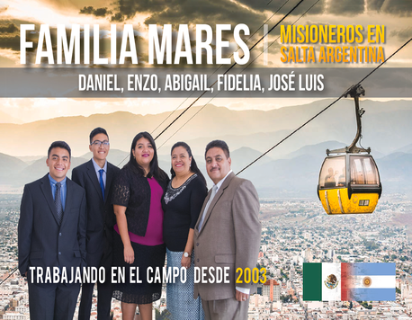 Familia Mares en Argentina