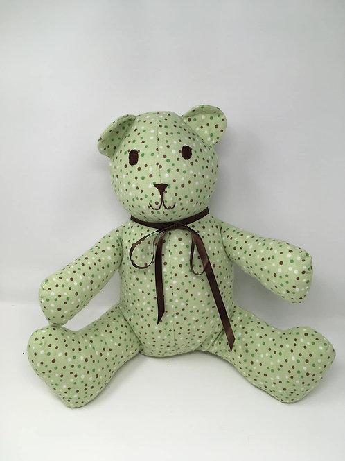 Green Polka Dot Bear