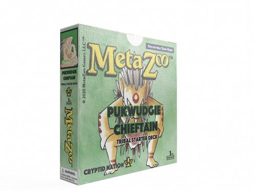 MetaZoo: Cryptid Nation Tribal Theme Deck - Forest