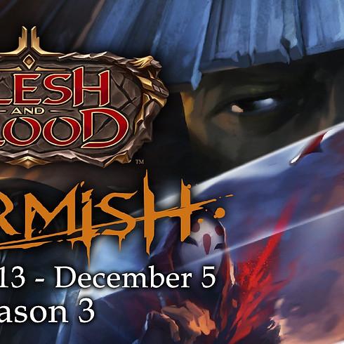 November - Skirmish Draft
