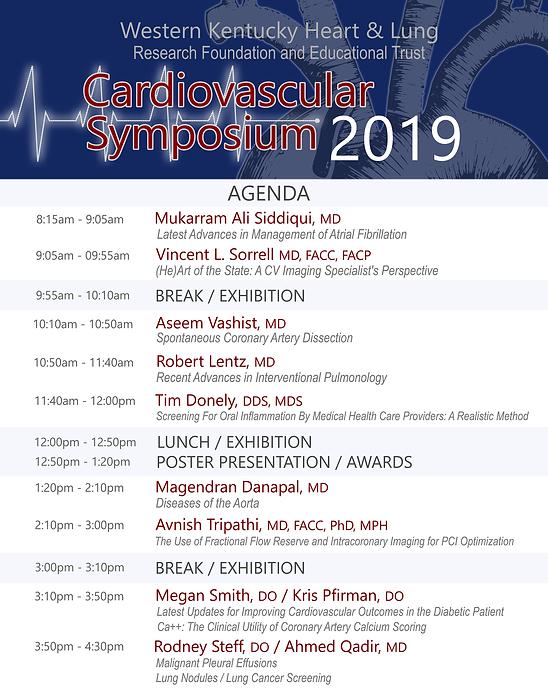 WKHL CS 2019 - Program- agenda summary -