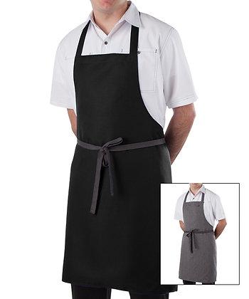 Reversible Bib Kitchen Aprons (Pack of 6)