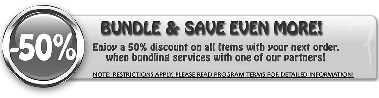 Special Offer -50% Off