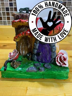 Handmade Fairy Mushroom_Tree House