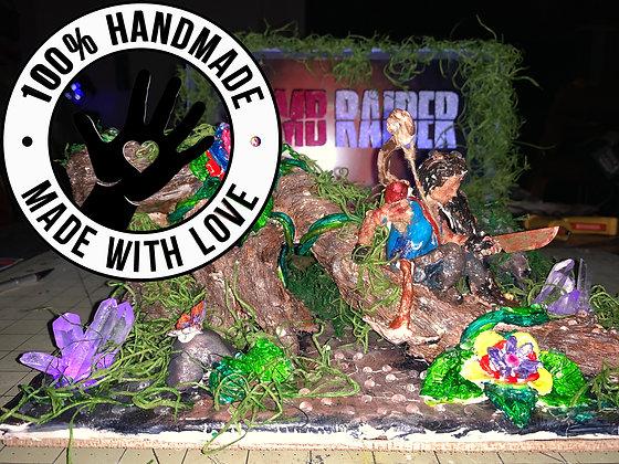 Handmade Tomb Raider Scene (Unofficial/Unlicensed)