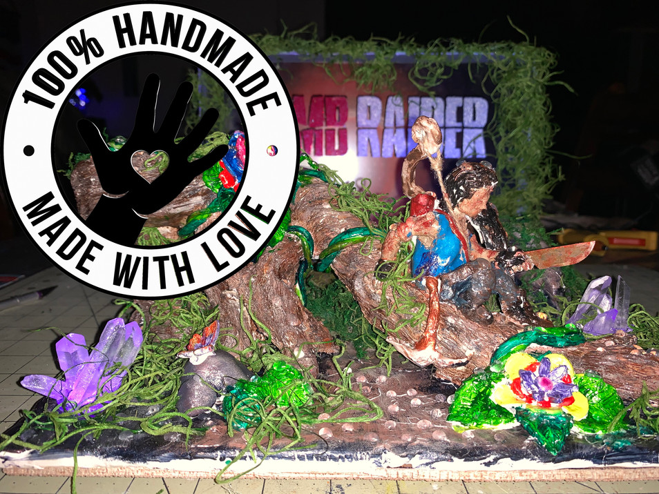 COLLECTIBLE ITEM! Handmade & Hand-Painte