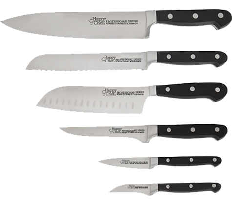 6-Piece Professional Knife Set