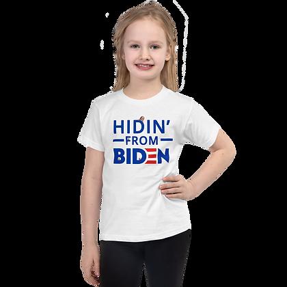 """""""Hidin"""" Light Colors Short sleeve kids t-shirt"""