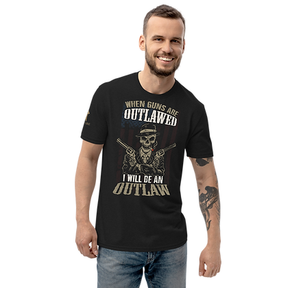 """""""OUTLAW"""" Unisex recycled t-shirt"""