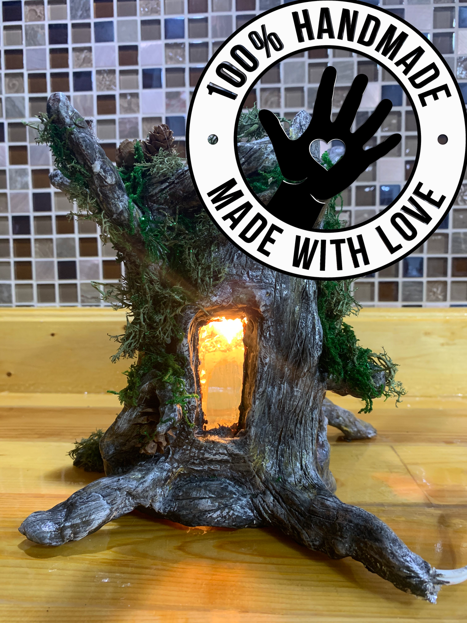 Handmade _Dead_ Tree Night Lamp